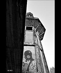 Minareto di Consonno V (STEVE BEST ONE) Tags: blackandwhite bw italy abandoned town nikon italia minaret places bn exploration lombardia lecco minareto paese abandonedplaces 2011 consonno d3100