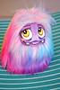 Rainbow Fluff (Scribble Dolls) Tags: pink cute art monster toy happy miniature stuffed rainbow doll sweet handmade pastel critter small mini plush softie tiny stuffedanimal handpainted plushie handsewn cloth creature sewn plushart scribbledolls
