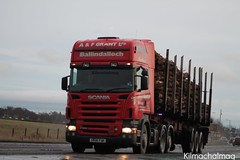 A & F Grant Balindalloch Timber Haulage Scania R580 SV06 FAK (Kilmachalmag) Tags: truck photo forestry timber logs sawmill scania norbord balcas hauliers alucar