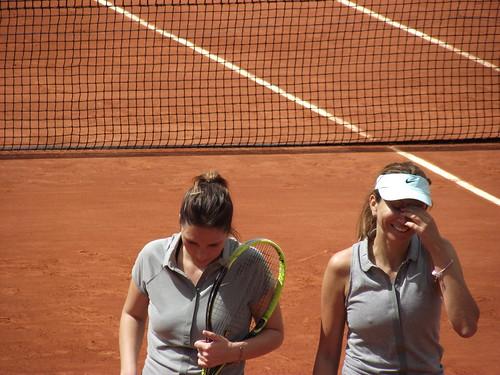 Anastasia Myskina - Roland Garros 2014 - Iva Majoli & Anastasia Myskina