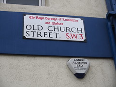 Old Church Street is one of The most expensive area for real estate in Chelsea.
