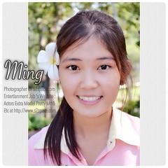 น้องมิ้ง สาวสวยหน้าใส หัวใจสีชมพู น่ารักสุดๆไปเลยจ้า... ^_^  --- Model : Ming  Photographer Of S2space.com  Entertianment Job