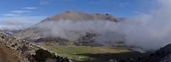 There it is, Omalos Viannou, at 1 340 m. (Ia Löfquist) Tags: hiking plateau kreta hike crete vandring platå amiras omalos vandra viannou
