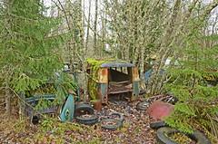 The old junkyard (saabrobz) Tags: old junkyard