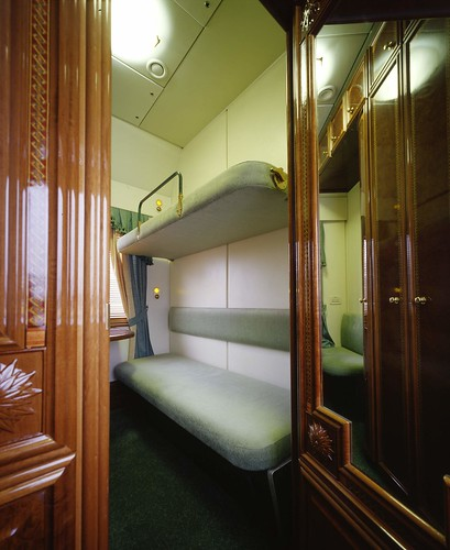 Russian private rail cars
