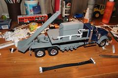 Oilfield frac blender (cheliman) Tags: truck oilfield frac scalemodel scratchbuilt fracing truckmodel
