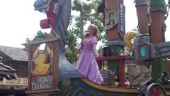 Rapunzel (Elysia in Wonderland) Tags: world usa festival america orlando florida magic kingdom disney parade september fantasy rapunzel 2014