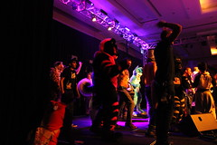 Midwest Furfest- Sunday 7 December to Monday 8 December 2014 (SperaLyoness) Tags: party dog chicago dead dance costume illinois furry midwest ohare rosemont il mascot suit convention furries hyatt cheetah regency deaddog mff fursuit mwff furfest dumari mwff2014