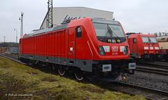 147 001 DB Regio ( TRAXX AC3 ) (vsoe) Tags: railroad train germany deutschland engine eisenbahn railway db nrw krefeld bahn 147 nordrheinwestfalen bombardier lok regio traxx prototyp