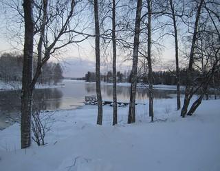 Lac Lammasjärvi à Kuhmo (Suomi - Finlande)