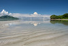"""Low Tide"" (helmet13) Tags: d800e raw seychelles lowtide indianocean islands waterreflection sky sunshine colors silence summer tropics nature width aoi heartaward peaceaward platinumpeaceaward 100faves world100f clouds"