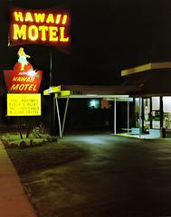 (Alyson Bowen) Tags: florida kodak motel 4x5 daytonabeach viewcamera colorfilm portra160