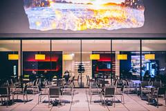 6.4 = make out (superstarfighter) Tags: café night 35mm germany deutschland cafe fujifilm muenster atnight nordrheinwestfalen münster nighthawks westfalen lwl northrhinewestphalia lwlmuseum fujix100s x100s