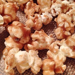 "Bourbon Caramel Popcorn ready for the oven. So far, it looks just as fantastic as yesterday's batch!  #bourbon • <a style=""font-size:0.8em;"" href=""http://www.flickr.com/photos/54958436@N05/16198161242/"" target=""_blank"">View on Flickr</a>"