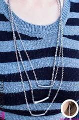 5th Avenue Silver Necklace K1 P2210-2