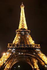 Sparkling Eiffel Tower, Paris, France