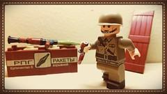 LEGO RUSSIAN SOLDIER (Keaton FillyDing) Tags: brick soldier arms figure minifig custom russian minifigure ww1ww2 legobrickarmsclonetrooperx39 overmoldrpg