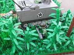 Ambush on the Ho Chi Minh trail (4) (brick_builder7) Tags: lego vietnam trail chi ho minh moc battlelug