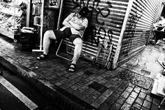 R0017617 (kenny_nhl) Tags: life street shadow people blackandwhite bw black monochrome dark hongkong blackwhite shot 28mm streetphotography surreal scene snap explore visual ricoh provoke grd explored streephotography grd4 grdiv