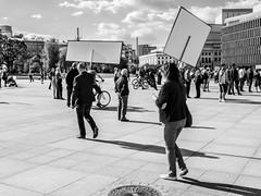 untitled (gregor.zukowski) Tags: street urban blackandwhite bw candid protest streetphotography demonstration warsaw fujifilm streetphoto warszawa peopleinthecity
