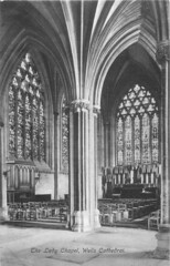 The Lady Chapel (mgjefferies) Tags: england cathedral postcard wells somerset 1908 ladychapel ffrithco