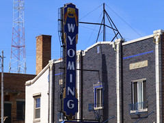 Torrington, WY Wyoming Theater (army.arch) Tags: cinema sign theater neon blade wyoming movietheater torrington wy