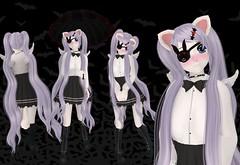 EGL Classy (SerenitySemple) Tags: anime cute fashion furry gothic spooky secondlife kawaii egl nyan kowai ayashi gacha mokyu barerose animehead distorteddreams pixelgeek gachagarden kowaiponpon