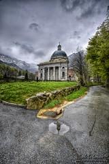 Oropa Basilica Superiore (danilodld) Tags: church nuvole chiesa piemonte biella riflessi pioggia hdr oropa biellese visitpiedmont d7200serialnumber4351116