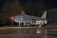 BAC Lightning F6 - 55 (NickJ 1972) Tags: night photo shoot photoshoot aviation ground nightshoot lightning lpg js proving bac 2016 f6 englishelectric britishaircraftcorporation bruntingthorpe xr728