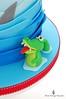 The Hungry Crocodile (Little Cottage Cupcakes) Tags: birthday blue cake canon ship pirate crocodile sail sharks pirateship fondant piratecake pirateshipcake sugarpaste skullsandcrossbones littlecottagecupcakes