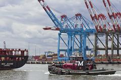 r_160519337_whcedu_a (Mitch Waxman) Tags: newyorkcity newyork ship cargo tugboat moran gantrycranes workingharborcommittee educationtour portelizabethnewark