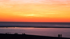 Sunset on the Ocean (Louis Lefranc) Tags: ocean sunset sun france water canon fire arcachon 6d gironde