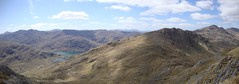 Panorama on ascent (Simon Varwell) Tags: knoydart