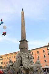 IMG_1215_Fontana dei Quattro Fiumi Piazza Navona (Vito Amorelli) Tags: italy rome fontana dei quattro 2016 fiumi