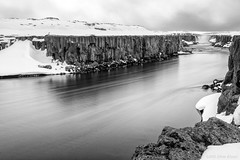 I wish I had a river I could skate away on (OR_U) Tags: longexposure blackandwhite bw mountain snow motion ice water river landscape blackwhite iceland movement rocks le oru schwarzweiss jonimitchell selfoss 2016