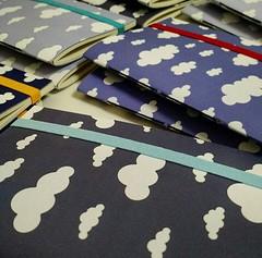 Cadernetas Nuvens (Projetos em Papis :: BH :: Brasil) Tags: clouds notebook nuvens chdebeb delicadeza lembrancinha caderneta bailaletra