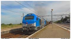 335.001 con el Tramesa Sagunto Vigo (javivillanuevarico) Tags: madrid trenes tramesa 335001 pinardelasrozas