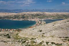 Vakantie Kroati & Sloveni 2015 (redijkstra) Tags: water vakantie uitzicht pag eiland kroati rotsachtig