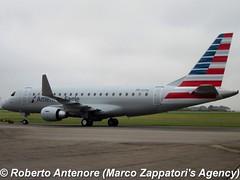 Embraer E-175 (E-170-200/LR) (Marco Zappatori's Agency) Tags: embraer e175 americaneagle pretw robertoantenore marcozappatorisagency n237nn envoyair