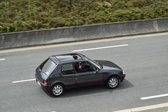 Peugeot 205 GTI (xwattez) Tags: peugeot 205 gti voiture automobile franaise ancienne old french car vhicule transports route road blagnac france 2016