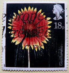 great stamp Great Britain 18p blanket flower, Gaillardia (Gaillardia aristata, Kokardenblume, Gailardia, Papageienblume, , Kokrdavirg, ) timbre UK United Kingdom stamps England selo sello stamps GB stamp Great Britain GB England UK  (thx for sending stamps :) stampolina) Tags: uk greatbritain red england black flower fleur yellow postes flora unitedkingdom flor gb british blume gaillardia tem commonwealth postzegel flore  selo blanketflower bolli sello sellos kwiat briefmarken papageienblume gaillardiaaristata kokardenblume frimrken gailardia  francobollo selos timbres frimrker  francobolli bollo zegels  zegel znaczki markica  perangko frimerker pullar timbru  kokrdavirg grosbritannien     blyegek  antspaudai raztka