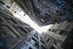 escape velocity (keith midson) Tags: building up architecture buildings place centre australia melbourne lane
