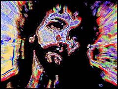 Portrait of The Christ (Rob Goldstein -Thanks for your support) Tags: color colorful art blogging best beautiful digitalart digitalphotography photoshop photomorph abstract abstracts artbyrobgoldstein wordpress blogger christianity