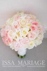 buchet-mireasa-culori-pale (IssaEvents) Tags: buchet mireasa superb culori pale roz si ivory bucuresti valcea slatina issamariage issaevents