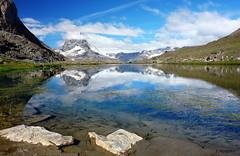 das Matterhorn (welenna) Tags: matterhorn wassespiegel