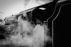 Steamy. (ian.emerson36) Tags: steam train nymr whitby engine 45428 canon preserved heritage railway yorkshire