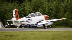 N488JF 1953 Beech A45 C/N G-298 (Hawg Wild Photography) Tags: n488jf 1953 beech a45 cn g298 2016 north cascades vintage aircraft museum flyin mears field 3w5 concretewashington terrygreen nikon nikond4s