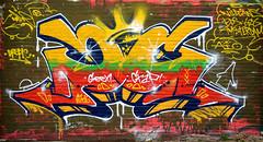 graffiti amsterdam (wojofoto) Tags: amsterdam graffiti wojofoto wolfgangjosten nederland holland netherland drepie ndsm
