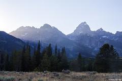 Grand Teton Sunset (isaac.borrego) Tags: uploadedviaflickrqcom mountains peaks meadow forest sunset grandteton nationalpark wyoming canonrebelt4i jacksonhole unitedstates america