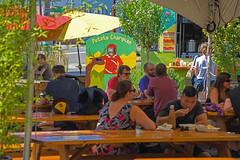 Food Cart Paradise PDX Oregon (dog97209) Tags: foodcartparadisefood beer shrubbery umbrellas people whatsnottolike portland oregon